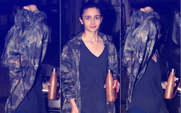 Alia Bhatt Hides From The Media. Ranbir Kapoor To Blame?