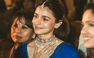 Alia Bhatt Gets Teary-Eyed At Best Friend Devika Advani's Bidaai- View More Pics From The Ceremony