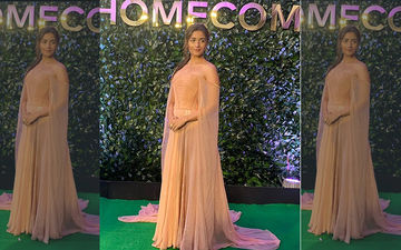 IIFA Awards 2019: Alia Bhatt Looks Ravishing As She Picks Nude As The Colour Of The Night