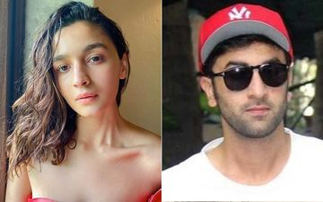 Ranbir Kapoor- Alia Bhatt Spotted By The Paparazzi As They Dub For Brahmastra, Fans Cannot Contain Their Excitement About The Film