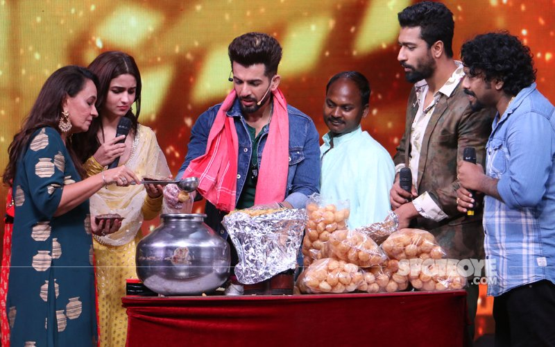 Jay Bhanushali Turns Pani Puri Wallah For Alia Bhatt