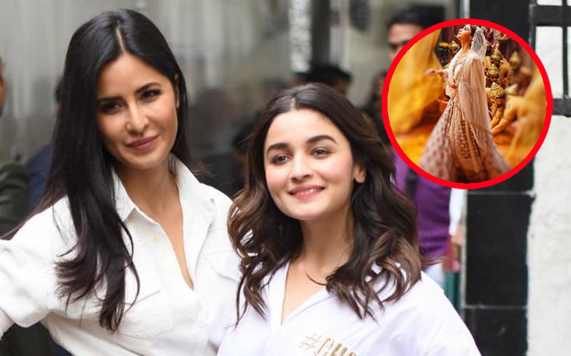 Katrina Kaif Is Fangirling Over Alia Bhatt's Kathak Moves In Ghar More Pardesiya