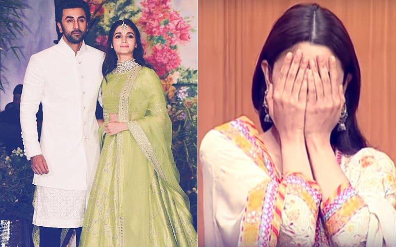 Watch: Alia Bhatt Almost Confirms Dating Ranbir Kapoor & Says, 'I Am Blushing'