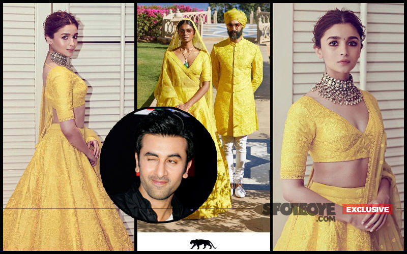 Alia Bhatt Orders A Sabyasachi Lehenga For Early 2020 Wedding With Ranbir Kapoor - EXCLUSIVE