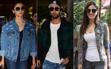 Ranbir Kapoor Shoots With Vaani Kapoor In Ladakh; Ladylove Alia Bhatt Parties With Her Boys