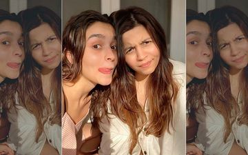 Alia Bhatt REVEALS She Didn't Get Along With Sister For THIS Reason; Shaheen Says 'We Weren't Friends'-VIDEO