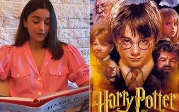 Alia Bhatt Transports Us To The Magical World Of Harry Potter; Reads A Chapter From The Sorcerer's Stone; It's Magical-WATCH