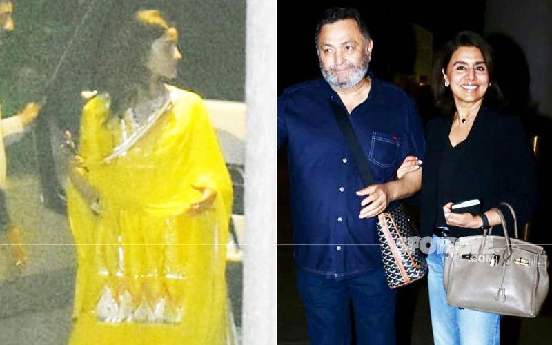 Alia Bhatt Visits Beau Ranbir Kapoor's House To Meet Rishi Kapoor And Neetu Kapoor