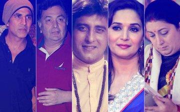 Akshay Kumar, Rishi Kapoor, Madhuri Dixit, Smriti Irani, Varun Dhawan Mourn The Passing Of Vinod Khanna