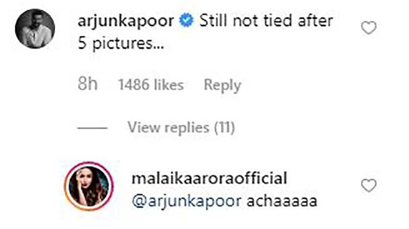 arjun reply