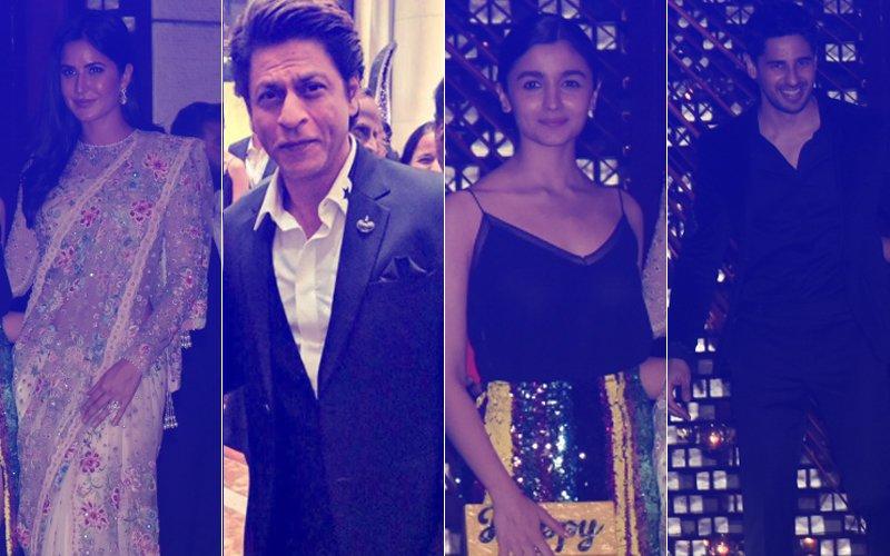 Katrina Kaif, Shah Rukh Khan, Alia Bhatt, Sidharth Malhotra PARTY HARD At Ambani's Bash!