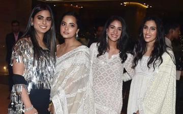 Isha Ambani, Shloka Mehta and Radhika Merchant Ooze Elegance At Abu Jani And Sandeep Khosla's Star-Studded Fashion Show