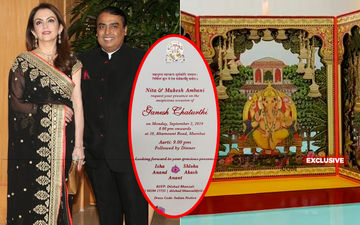Ambanis' Ganesh Chaturthi Invitation Card Is Purely Divine- EXCLUSIVE Pics Inside