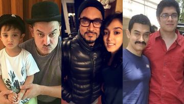 Aamir Khan Birthday Special: These Cute Family Moments Of The Perfectionist With His Kids Azad, Ira And Junaid Are Unmissable