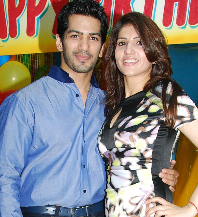 amit tandon with wife ruby during happier times