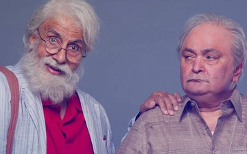 WHAT? Rishi Kapoor Plays A 75-Year-Old Son To 102-Year-Old Amitabh Bachchan