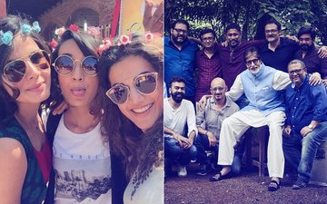 Amitabh Bachchan Trolled For Posting Team Pink's Photo With No Women