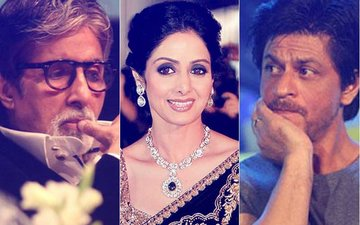 Amitabh Bachchan & Shah Rukh Khan's Emotional Tweets After Sridevi's Funeral Are Heartbreaking