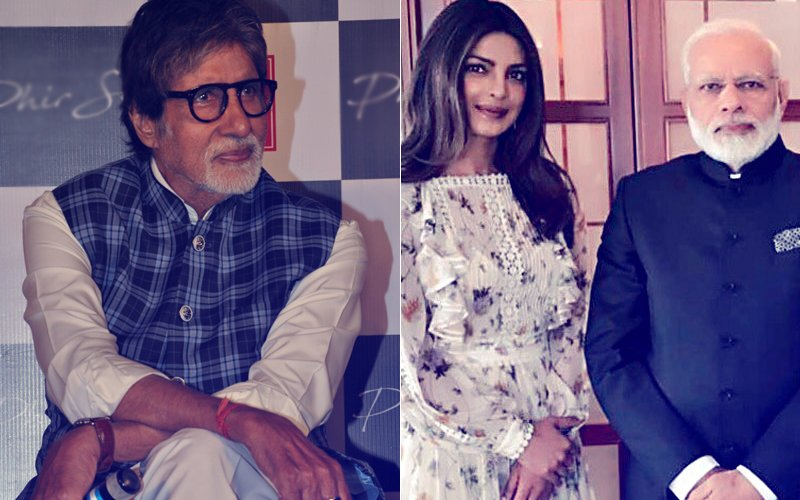 This is How Amitabh Bachchan Reacted To Priyanka Chopra-PM Narendra Modi Troll Controversy...