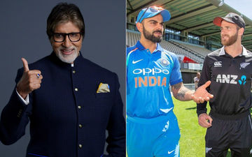 "Amitabh Bachchan Jokes, ""Shift WC 2019 Tournament To India"" After Ind Vs New Zealand Match Was A Washout"