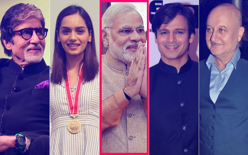 Narendra Modi Birthday: Amitabh Bachchan, Manushi Chhillar, Vivek Oberoi, Anupam Kher Wish The PM