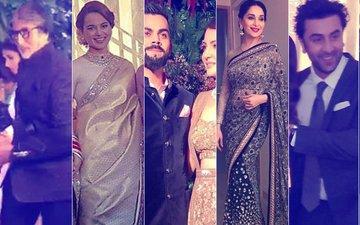 VIRAT-ANUSHKA MUMBAI RECEPTION: Inside Pics From The Gala Nite