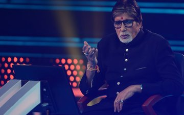 FIRST PICS: Amitabh Bachchan Is Back On-The-Sets Of Kaun Banega Crorepati