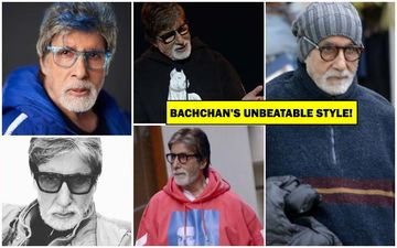 Amitabh Bachchan's 77TH Birthday: Big B In Hoodies And Bold Frames Can Still Give Young Bollywood Heroes Run For Their Money!