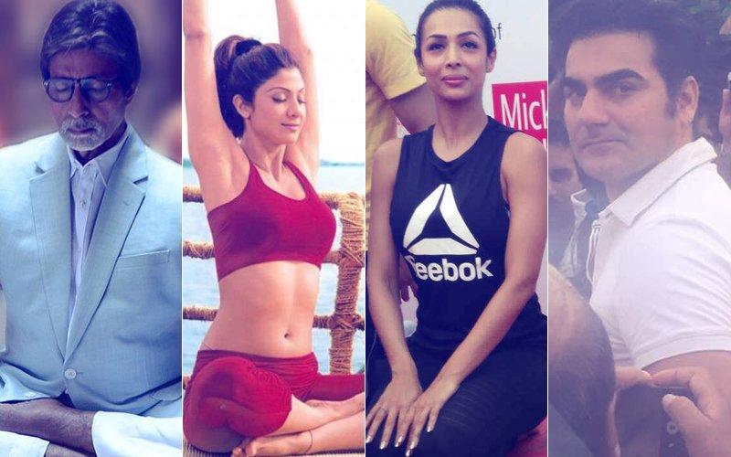 International Yoga Day: Amitabh Bachchan, Shilpa Shetty, Malaika Arora & Arbaaz Khan Celebrate The Day