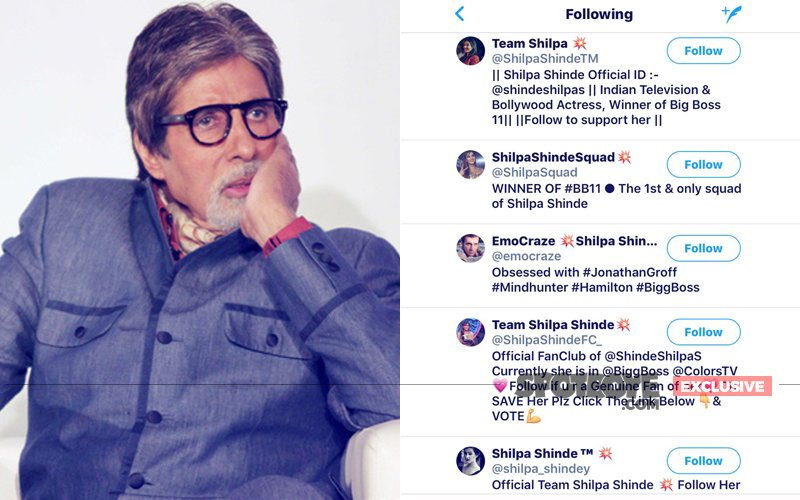 Has Amitabh Bachchan's Twitter Account Been Hacked By A BIGG BOSS Fan? What's happening?