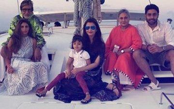 Abhishek Bachchan & Aishwarya Rai Give The Best Birthday Surprise To Amitabh Bachchan