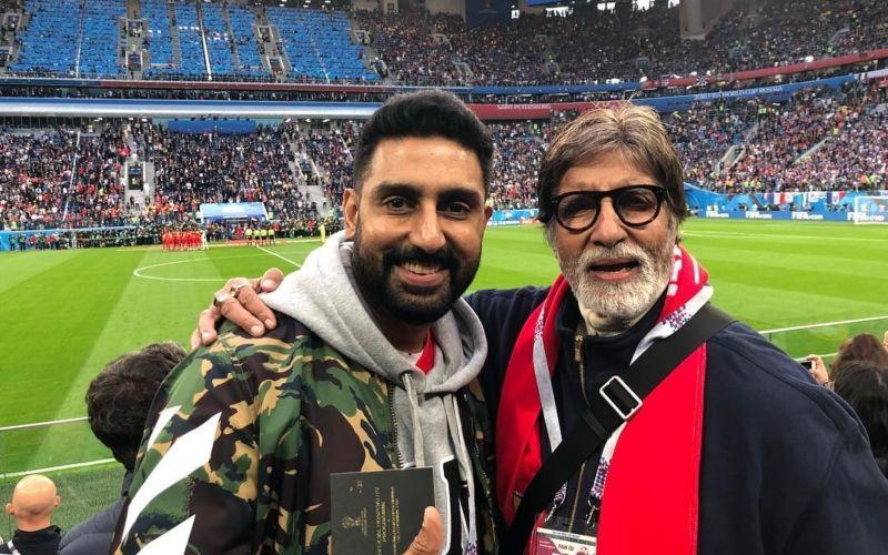महानायक अमिताभ बच्चन ने फिल्म इंडस्ट्री में 50 साल किए पूरे, अभिषेक बच्चन ने इस तरह पा को किया विश