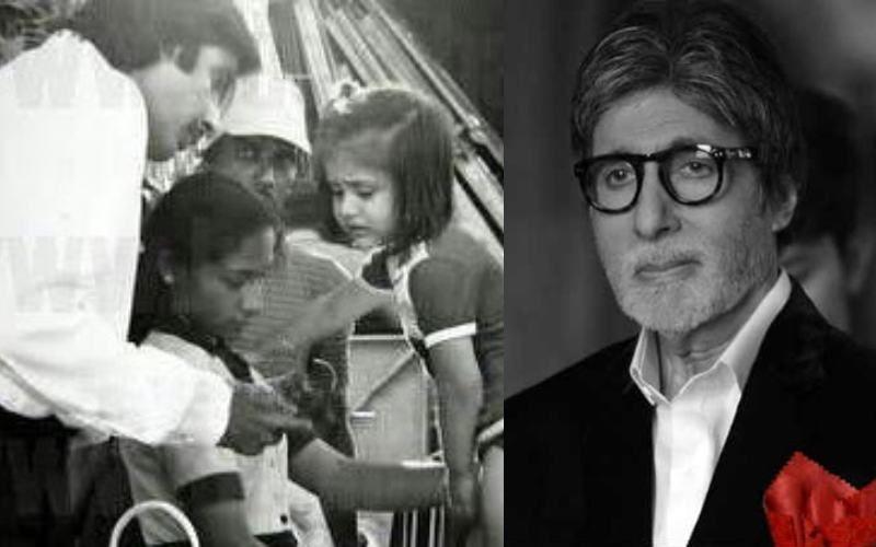अमिताभ बच्चन ने नन्ही करीना कपूर संग फोटो की शेयर, पहचान पाना मुश्किल