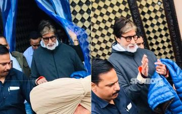 Amitabh Bachchan Relishes Aloo Paratha And Samosa While In Punjab-INSIDE PICTURES And VIDEO