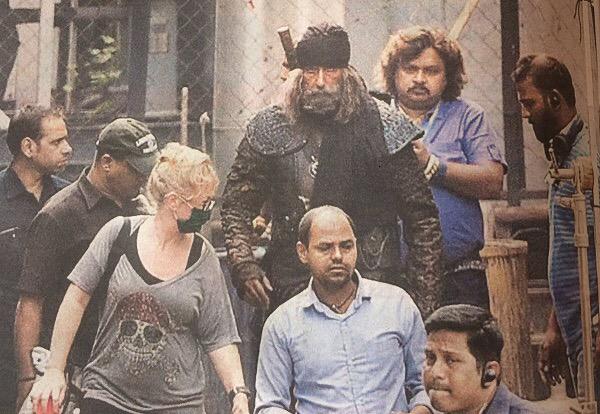 amitabh bachchans look in thugs of hindustan
