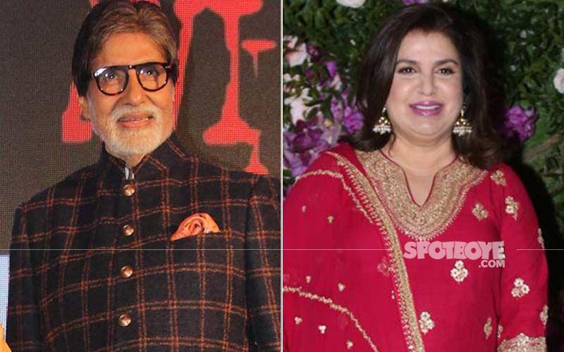 KBC13: Amitabh Bachchan recalls how Farah Khan once scolded him on the film sets