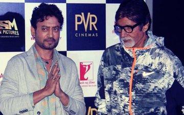 अमिताभ बच्चन को पसंद आई इरफ़ान खान की फिल्म 'ब्लैकमेल', की जमकर तारीफ