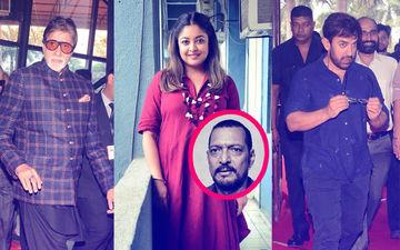 तनुश्री दत्ता-नाना पाटेकर विवाद: अमिताभ बच्चन और आमिर खान ने दिया कुछ ऐसा जवाब, क्या एक्ट्रेस को नहीं मिल है इंडस्ट्री से सपोर्ट?