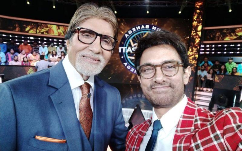 ठग्स ऑफ हिंदोस्तान में स्क्रीन शेयर कर रहे अमिताभ बच्चन और आमिर खान अब KBC में भी साथ आएंगे नज़र
