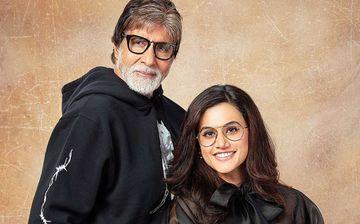 अमिताभ बच्चन ने की तापसी पन्नू की जम कर तारीफ, पसंद आया 'सांड की आंख' का ट्रेलर