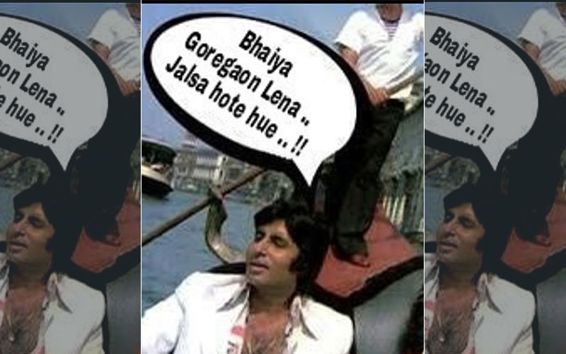 Video Of Amitabh Bachchan's Bungalow Getting Flooded Emerges As He Shares A Hilarious Meme On Waterlogged Mumbai Roads