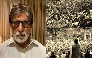 Amitabh Bachchan Thanks Fans For Their Love And Support; Shares A Throwback Picture From His Sunday Meet And Says, 'Help Me God'