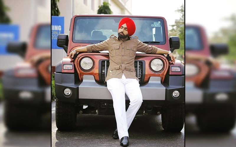 Ammy Virk's Pictures From 'Khabbi Seat' Poster Shoot Is Taking The Internet By Storm