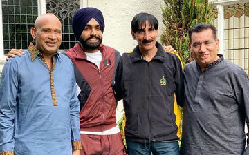 DREAM COME TRUE! Ammy Virk Meets Noted Pakistani Drama Artists, Shares Pic on Insta