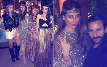 INSIDE PICS: Kareena Kapoor Sits Like A QUEEN On Saif's Lap At Amrita's Glittery Boho-Chic Bash