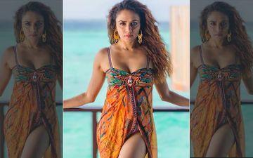 Amruta Khanvilkar Looks Stunning In This Ad With Sumeet Raghavan