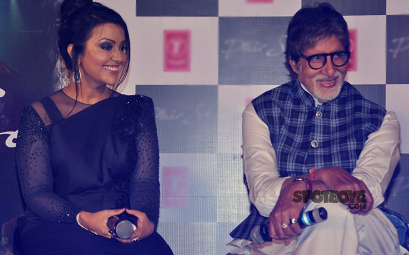 Amitabh Bachchan Launches Amruta Fadnavis's Pop Single Phir Se