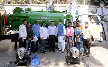 उत्तर प्रदेश के किसानों की मदद करने के बाद अब अमिताभ बच्चन ने बीएमसी कर्मचारियों को दिया गिफ्ट