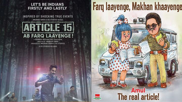 Amul Provides A Fascinating Twist To Ayushmann Khurrana's Article 15