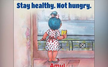 Amid Coronavirus Lockdown, Amul Urges People to 'Stay Healthy, Not Hungry' In It's Recent Ad